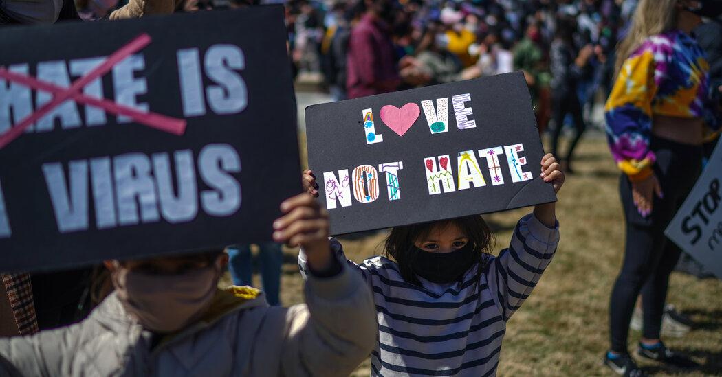 Protesters Gather in Atlanta to #StopAsianHate