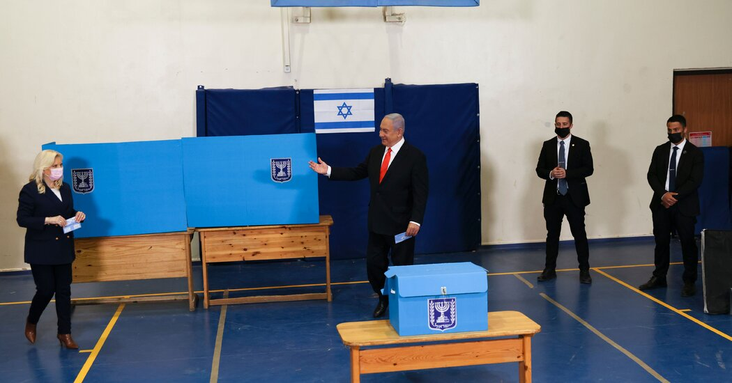 Netanyahu Has Path to Sixth Term in Israel Election, Exit Polls Show