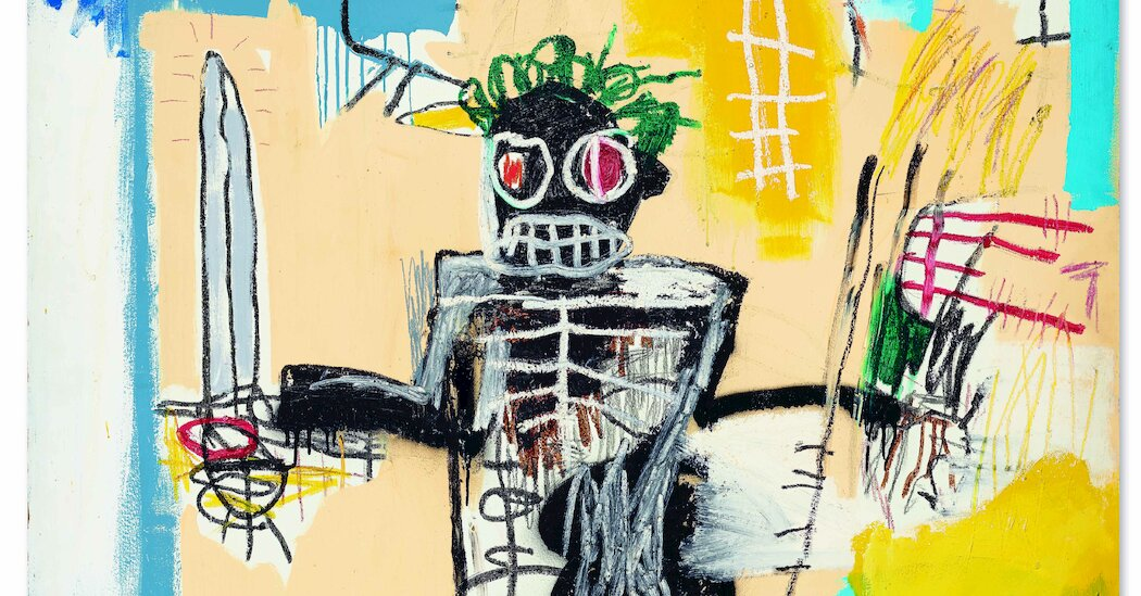 Basquiat Sells for .9 Million at Christie's in Hong Kong