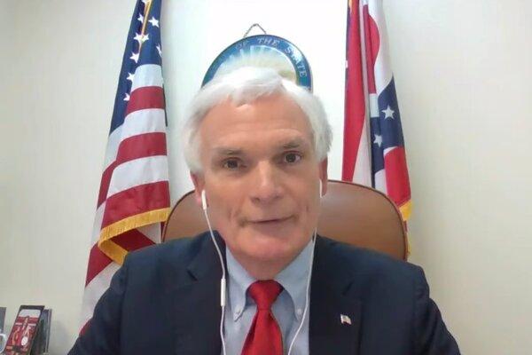 """Representative Bob Latta, Republican of Ohio, accused the platforms of a """"commitment to serve the radical progressive agenda."""""""