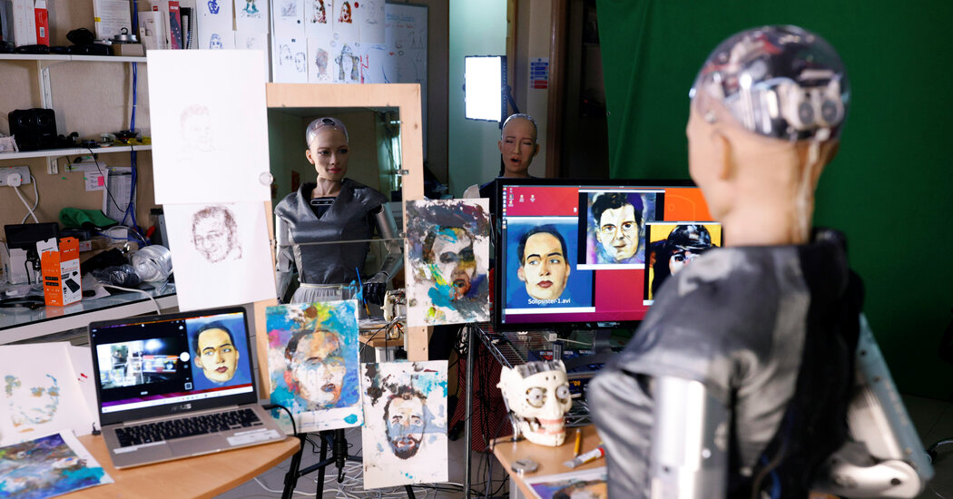NFT Artwork by Sophia the Robot Sells for Nearly 0,000