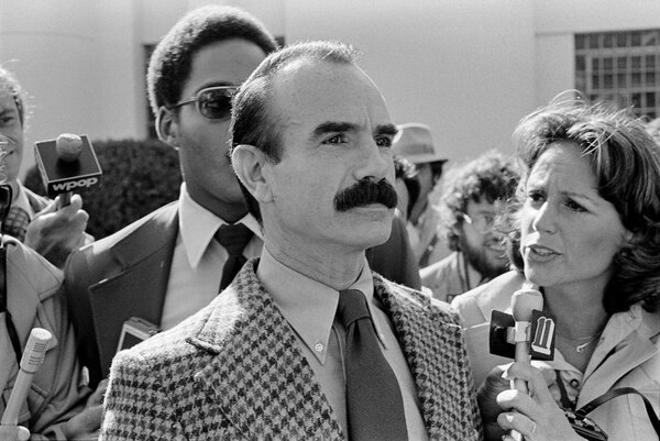 Yes.  Gordon Liddy on September 7, 1977, after being released from prison in Danbury, Conn.