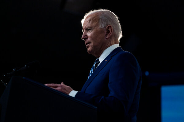 Mr. Biden would propose to raise the corporate tax rate from 21 percent to 28 percent and force multinationals to pay higher taxes on earnings abroad.