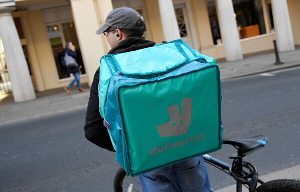 Deliveroo is now in 12 countries and has over 100,000 riders.