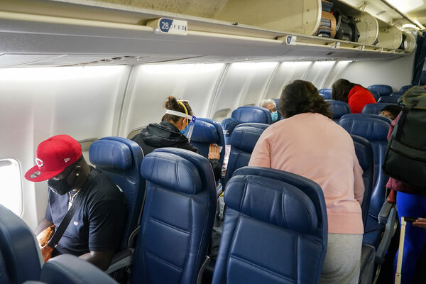 """""""With vaccinations becoming more widespread and confidence in travel rising, we're ready to help customers reclaim their lives,"""" the chief executive of Delta Air Lines said."""