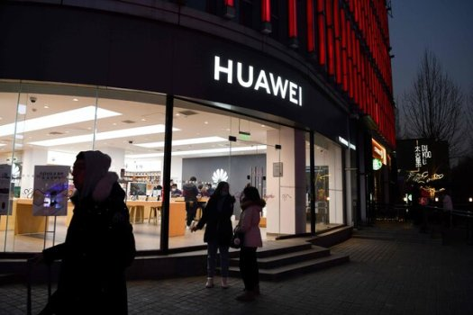 A Huawei store in Beijing. The United States has placed strict controls on Huawei's ability to buy and make computer chips.