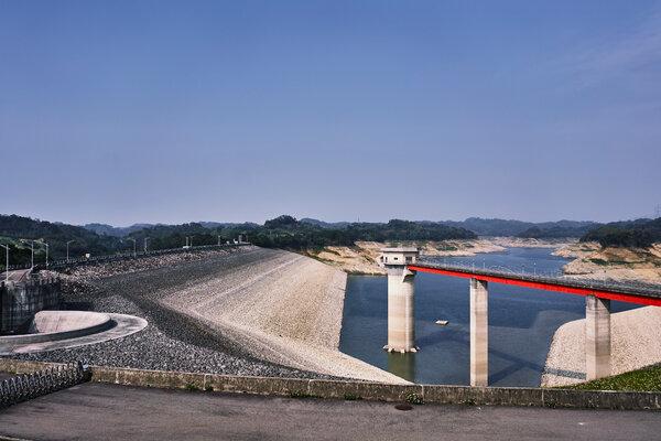 The Baoshan Second Reservoir. Not a single typhoon made landfall during last year's rainy season.