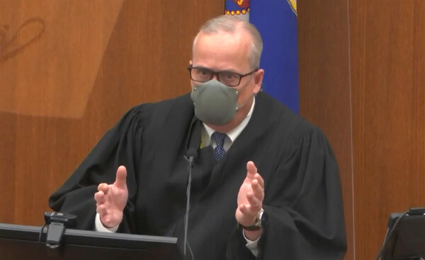 Judge PeterCahill said he planned to send jurors home early on Friday.