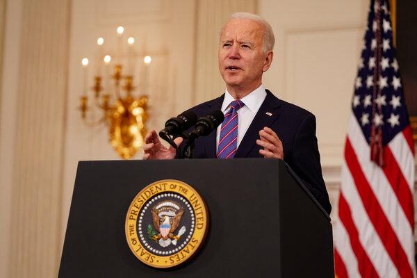 President Biden at the White House on Friday.