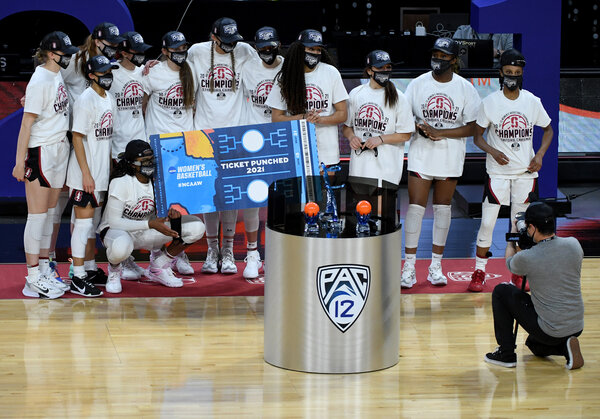 Stanford won the Pac-12 Conference tournament to solidify its position going into the N.C.A.A. tournament.