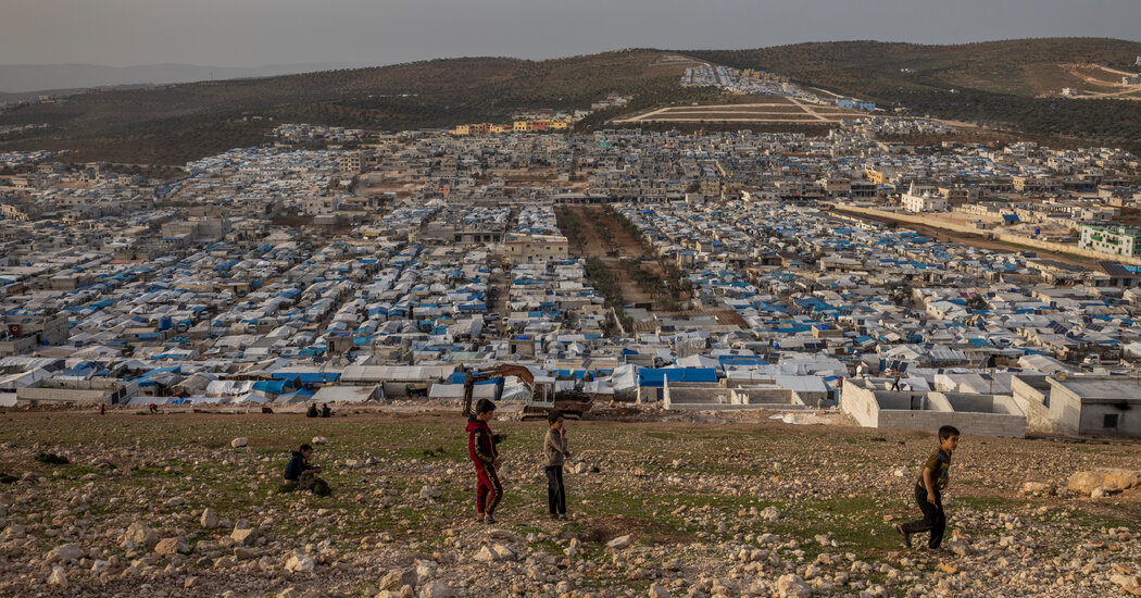 Syrian Refugees in Rebel Controlled Idlib Are Stuck in Limbo