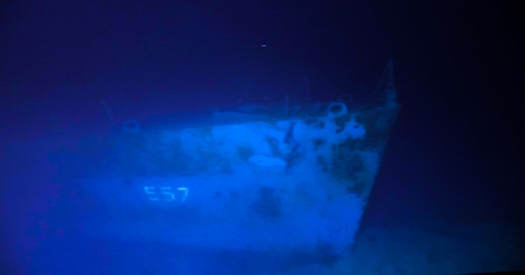 The U.S.S. Johnston Sank in 1944. A Crew Just Visited Its Wreckage.