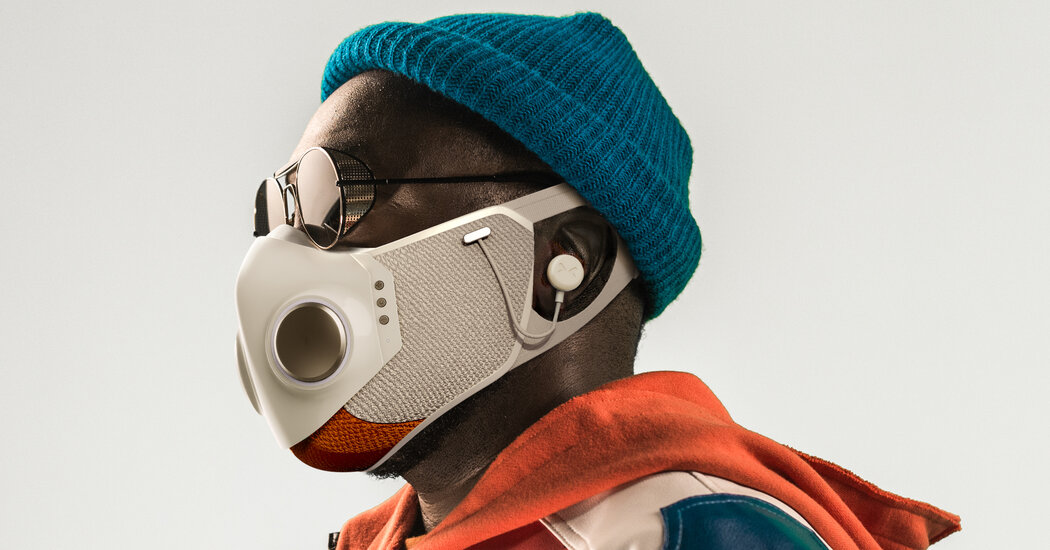 Will.i.am. and Honeywell Unveil 9 Face Mask