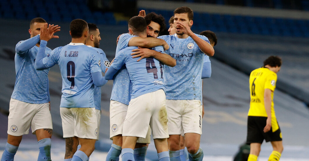 Manchester City-Dortmund: A Late Winner, and More Work to Do