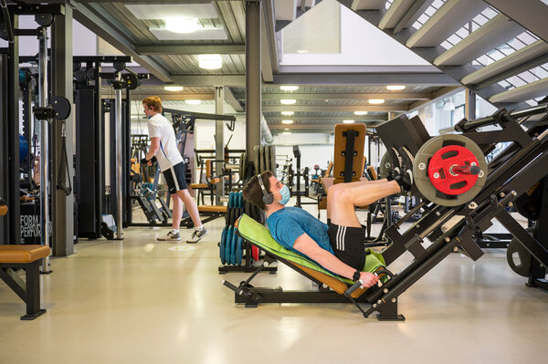 A gym in Saarbrücken, Germany, reopened on Tuesday to anyone with a negative coronavirus test in the previous 24 hours.