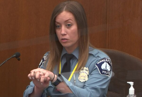 Officer Nicole Mackenzie, the medical support coordinator for the Minneapolis Police Department, testified on Tuesday in the trial of Derek Chauvin.