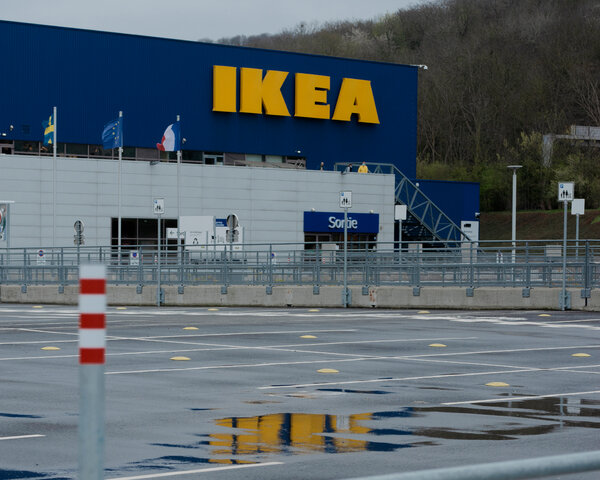 The Ikea store in Franconville, France, where employees were monitored, documents showed.
