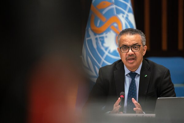 Dr. Tedros Adhanom Ghebreyesus, head of the World Health Organization, left open the door for further inquiries into the origins of the virus.