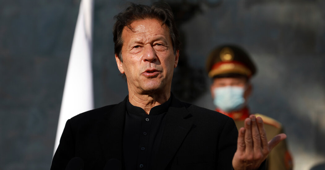 Outcry in Pakistan After Imran Khan Links Rape to How Women Dress