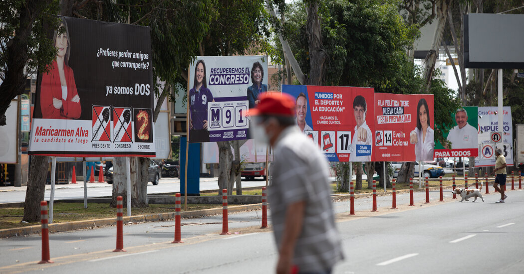In Peru's Presidential Election, The Most Popular Choice Is No One