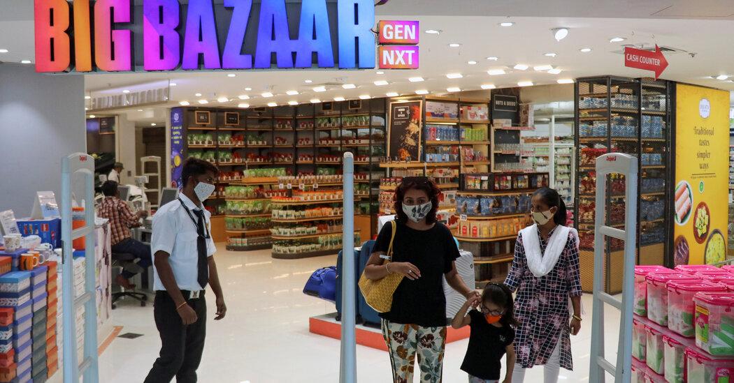 Amazon Battles Mukesh Ambani for India's E-Commerce Future