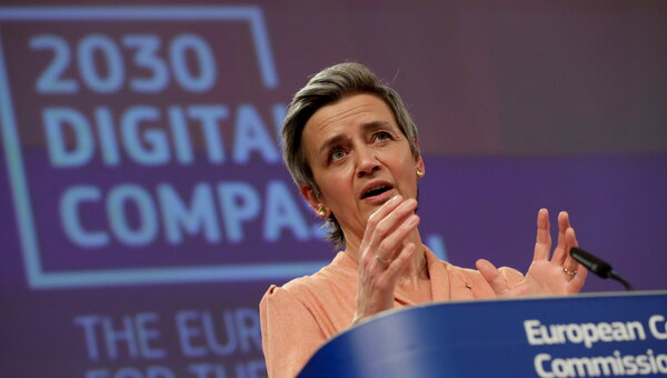 """Noting the power of digital platforms, Margrethe Vestager, a European Commission official, said in a recent speech that """"we need something more to keep that power in check."""""""