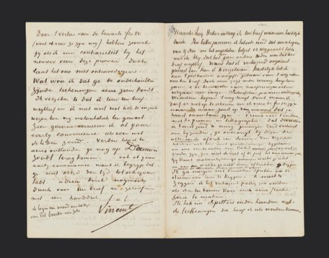 A letter from Vincent to Theo, November 1882.