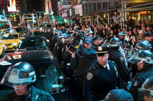 N.Y.P.D. to Limit Use of 'Sound Cannon' on Crowds After Protesters' Lawsuit