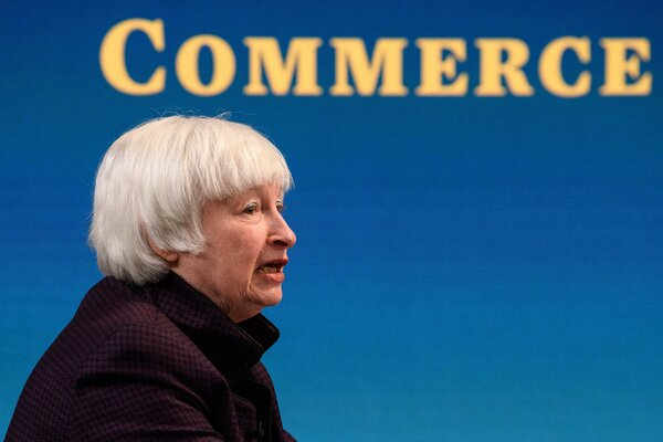 Janet Yellen, the Treasury secretary, said climate-aligned investments continue to face obstacles from inconsistent disclosure requirements that make it difficult for investors to assess opportunities and risks.