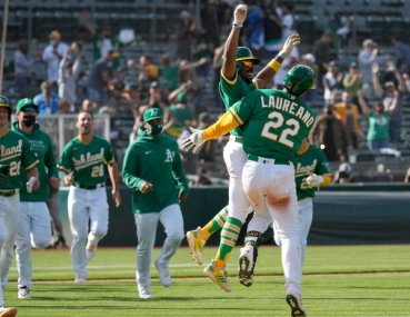 Oakland A's Boom and Bust Their Way to First Place - The New York Times
