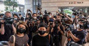 Hong Kong journalist guilty as media faces 'frontal assault'