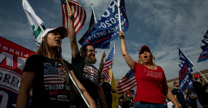 Half a Year After Trump's Defeat, Arizona Republicans Are Recounting the Vote