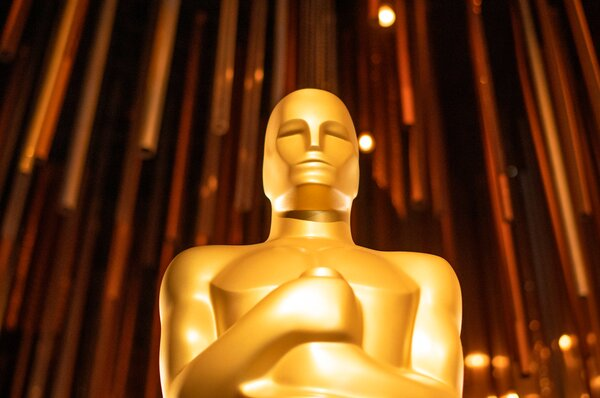 An Oscar statue from the 2020 festivities. This year is expected to look a lot different.
