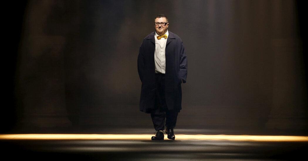Alber Elbaz, Beloved Fashion Designer, Is Dead at 59