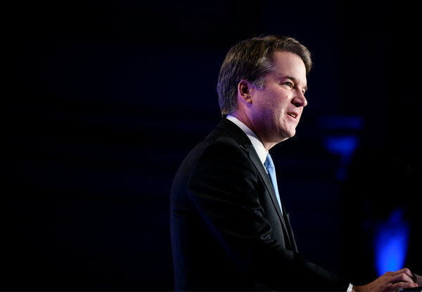"Nonprofit organizations ""across the ideological spectrum"" filed briefs supporting Americans for Prosperity Foundation, Justice Brett Kavanaugh noted."