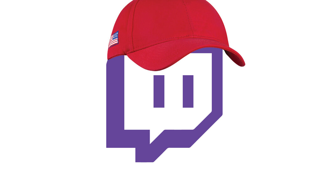 Twitch, Where Far-Right Influencers Feel at Home