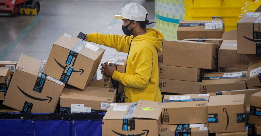 Amazon's profits soared 220 percent to start the year.