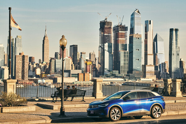 Volkswagen wanted to have a little fun when it introduced the all-electric ID.4 to the United States in March. The Securities and Exchange Commission wasn't laughing.