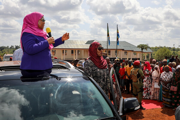 President Samia Suluhu Hassan of Tanzania has taken a different approach from her virus-denying predecessor, stating that the nation could not ignore the pandemic.