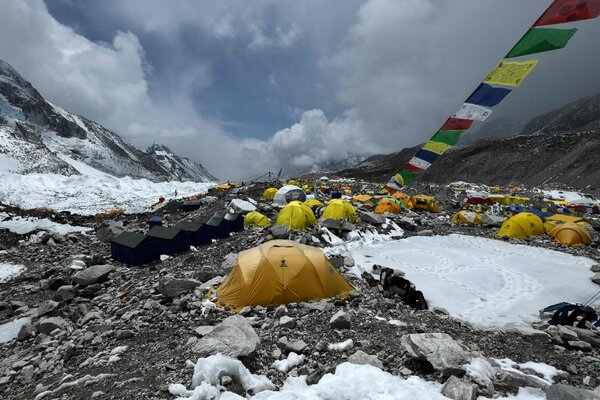 In recent weeks, several climbers have been flown out of Mount Everest Base Camp after reporting symptoms of Covid-19, then tested positive.