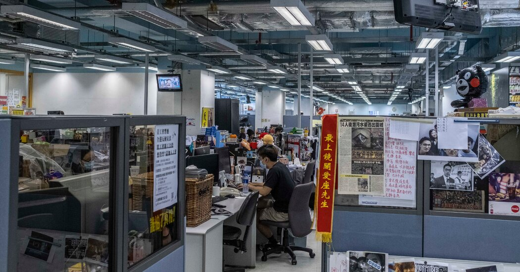 Hong Kong Pushes 'Fake News' Label as Media Face 'Worst of Times'