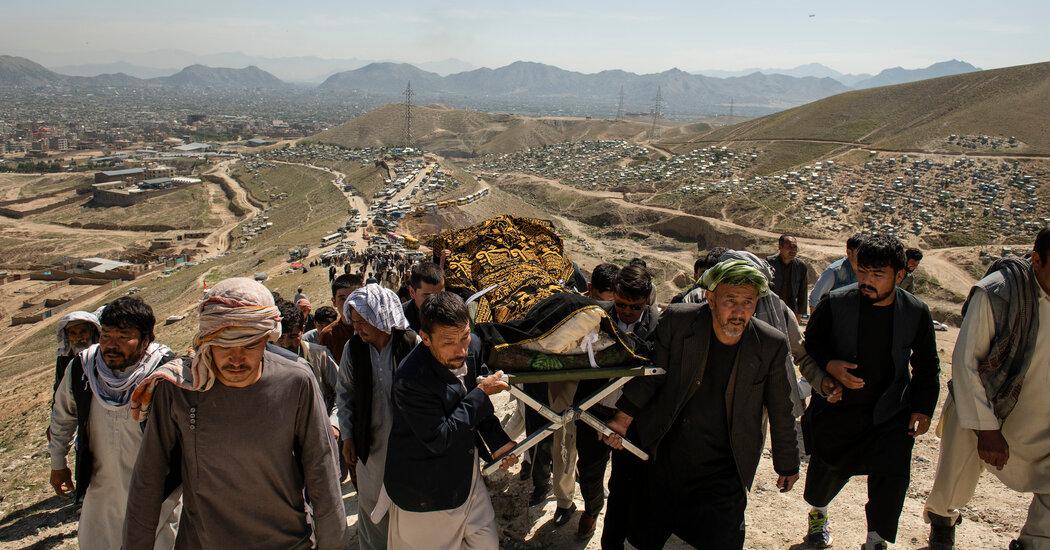 'Why Do We Deserve to Die?' Kabul's Hazaras Bury Their Daughters.