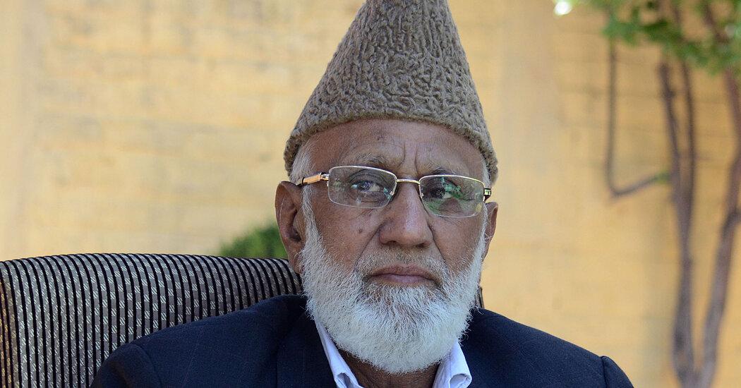 Mohammad Ashraf Sehrai, Kashmiri Separatist, Is Dead at 77