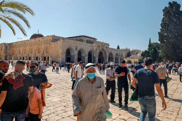 Several Islamist terror organizations take their name from Al-Aqsa, a holy site in Jerusalem.