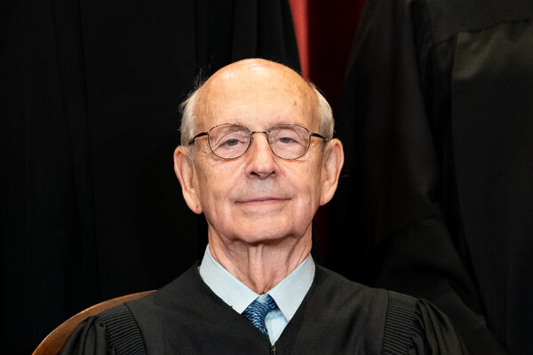 Justice Stephen G. Breyer is 82 and has been on the Supreme Court for nearly 27 years.