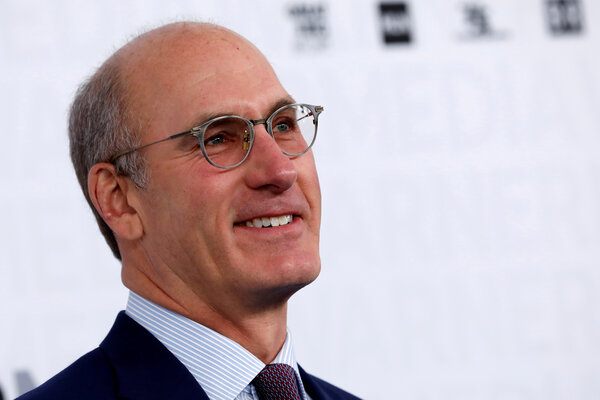 John Stankey, the chief executive of AT&T.