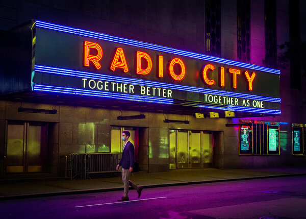 Radio City Music Hall will reopen June 19 for the final evening of the Tribeca Festival.