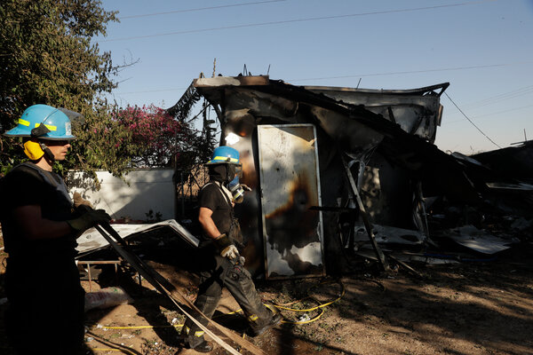 A Hamas rocket that hit an agricultural community in southern Israel on Tuesday killed two Thai workers.