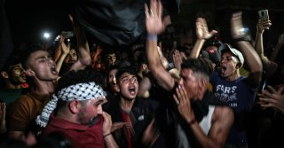 Hamas Supporters Celebrate 'Victory' in Gaza City