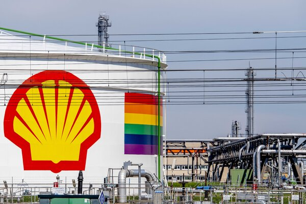 A Royal Dutch Shell facility in Rotterdam, the Netherlands. The company is expected to appeal a court ruling that it must reduce its carbon dioxide emissions.